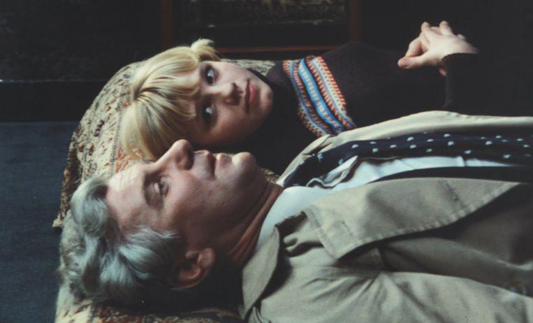 Carolien (Marina de Graaf) en Hugo (Gerard Cox) inHet debuut (1977). Beeld