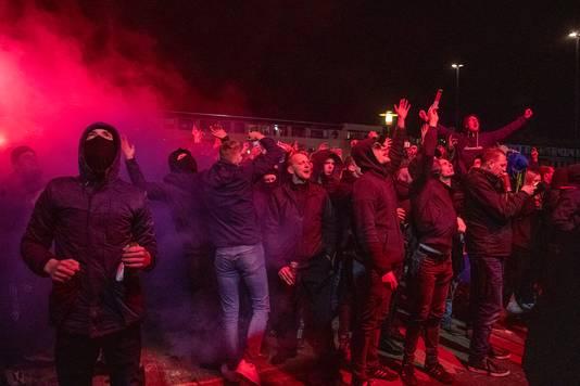 Fans van Cambuur.