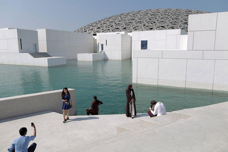 Het Louvre Abu Dhabi. Beeld Anadolu Agency