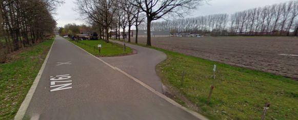 Het ongeval vond plaats op het kruispunt van de Oudeweg met de Hamonterweg.