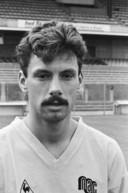 Peter Remie als NAC-speler in 1989.