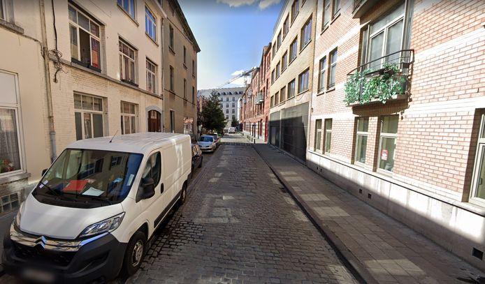 De Spaarstraat in Brussel