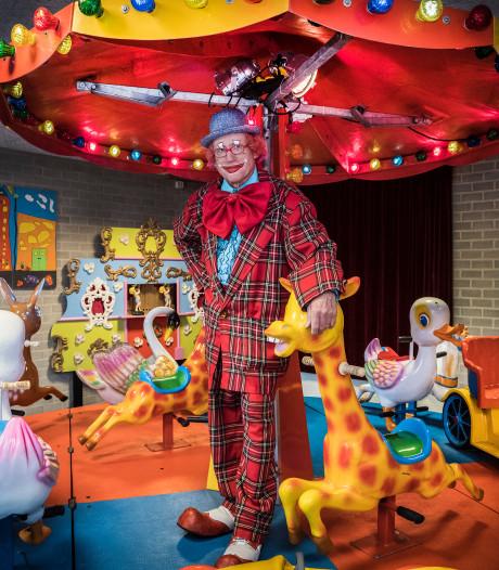 Clown Kwibus is dakloos: 'Kinderen zeiden dat ze hier de mooiste dag van hun leven hadden'