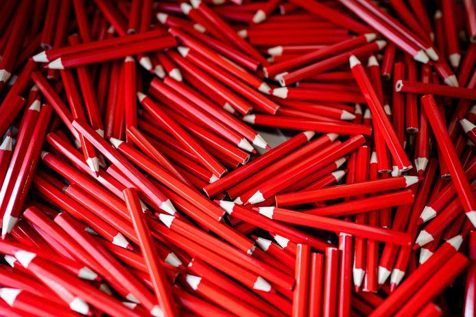 'We moesten streng zijn en de potloden terugvorderen. Dat deden we met een grapje.' Foto ter illustratie.
