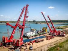 'IJsselmeer' klaar om miljoenen tonnen zand uit Maas en Waalse bodem te zuigen