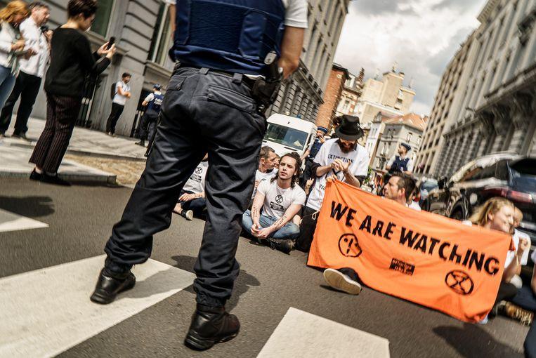 'We zullen nooit fysiek of verbaal geweld gebruiken, maar de meesten van ons zijn wel bereid om gearresteerd te worden.' Beeld Eric de Mildt