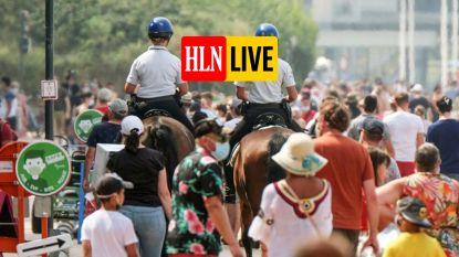 HITTEBLOG. Na Blankenberge gaat ook Knokke op slot - Oostende kondigt pre-alarmfase gemeentelijk rampenplan af