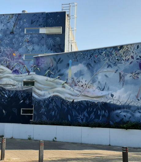 Handtekeningenactie Tilburgse muurschildering tikt 500 krabbels aan: 'Het mag niet weg'