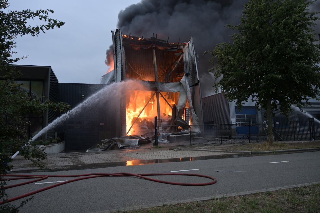 Brand bij Fire-up in Oisterwijk