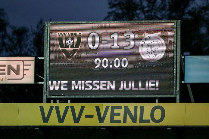 Ajax liet diverse eredivisierecords sneuvelen na de monsterzege in Venlo.