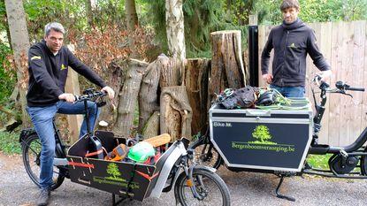 Boomverzorgers gaan op ronde met bakfiets