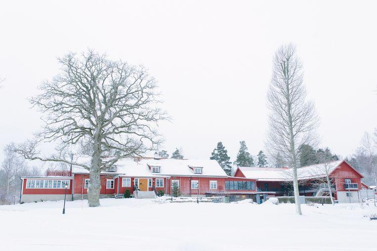 Katrinelund in de winter  Beeld x