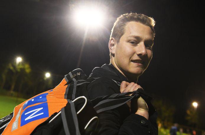 Aron van Mourik van SV Buren.