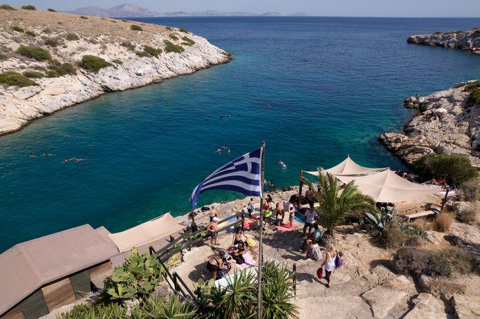 In Griekenland wordt een historische hittegolf verwacht.