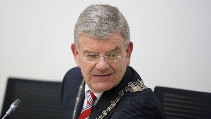 De Utrechtse burgemeester Jan van Zanen.