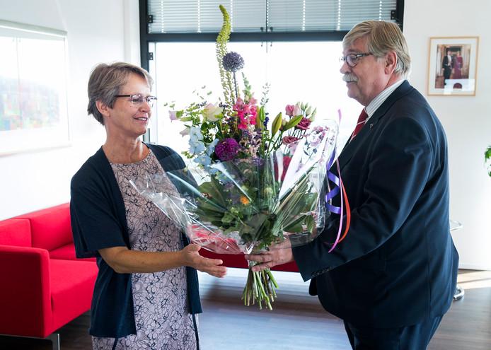 Waarnemend burgemeester van Stichtse Vecht Yvonne van Mastrigt.