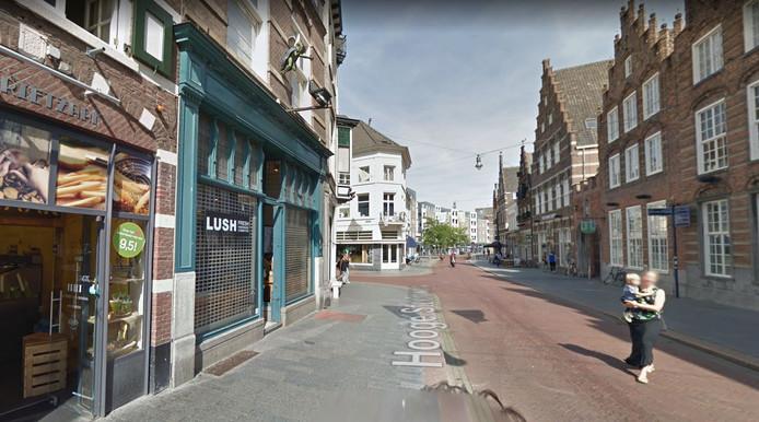Oude pand van Lush aan de Hooge Steenweg