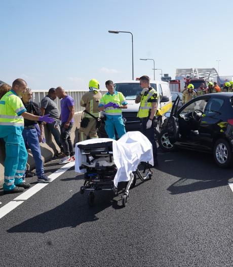 Vier auto's betrokken bij ongeluk veroorzaakt door spookrijder
