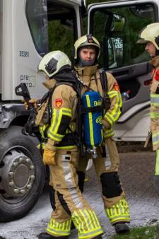 Vuilniswagen vliegt twee keer binnen twee uur tijd in brand