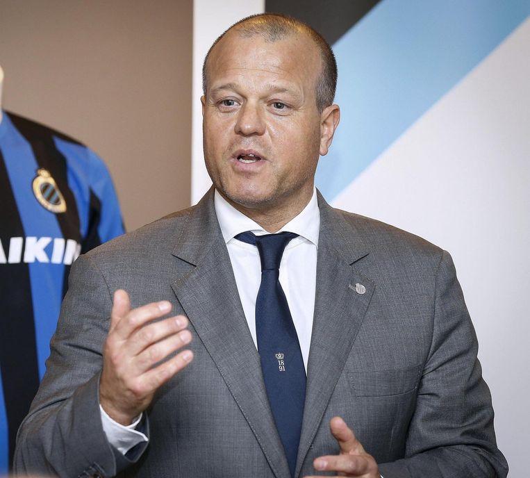 Club-voorzitter Bart Verhaeghe. Beeld rv
