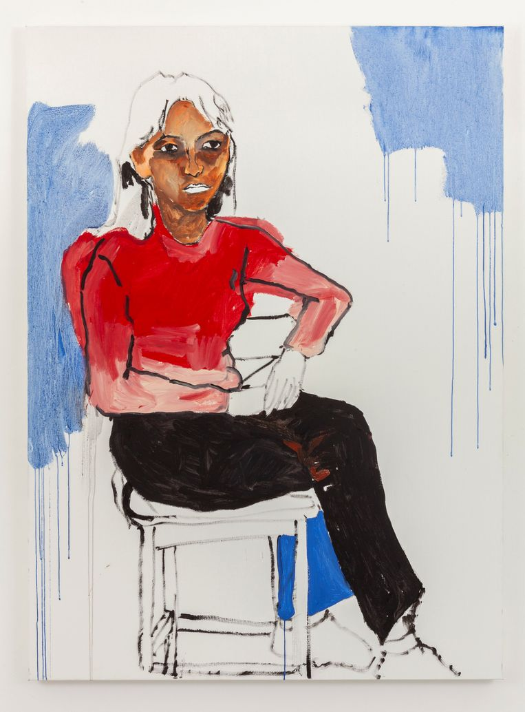 Shirley Villavicencio Pizango - 'Summer Breeze that Melt the Snow of a Winter Day' (2020), Galerie Geukens & De Vil Beeld GalleryViewer