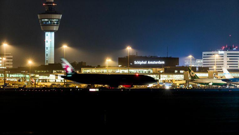 Schiphol. Beeld Freek van den Bergh