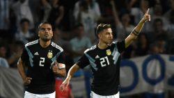 FT buitenland. Argentinië verslaat Mexico opnieuw in vriendschappelijke interland, eerste goals voor Icardi en Dybala