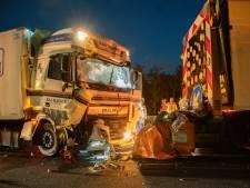 Ravage op A1 bij Bathmen nadat trucker vol op wegwerkzaamheden knalt: hinder in de ochtendspits