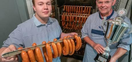 De lekkerste rookworst komt uit Diepenheim