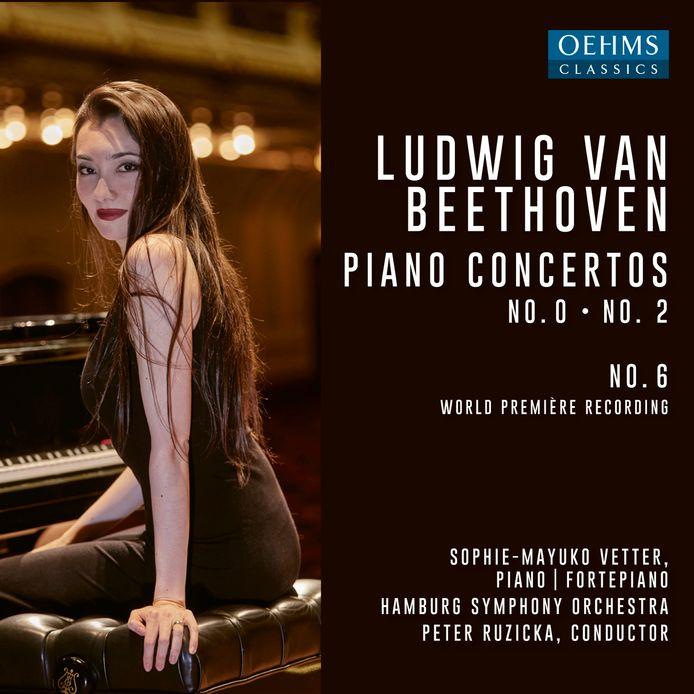 Ludwig van Beethoven, Piano Concertos no. 0 - no. 2.