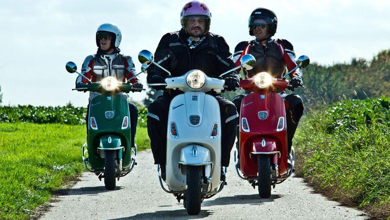 Een scène uit de 'Biker Boys'. Beeld VRT NYK DEKEYSER