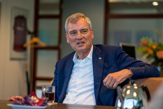 Eric van Schagen, voorzitter van VNO-NCW Brabant Zeeland en topman van ICT-bedrijf Simac in Veldhoven.