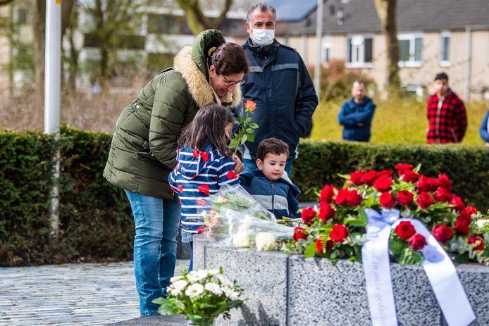 Herdenking van het Ridderhof-drama.