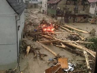 Vier doden bij uitzonderlijk zwaar noodweer in zuidwesten van Duitsland
