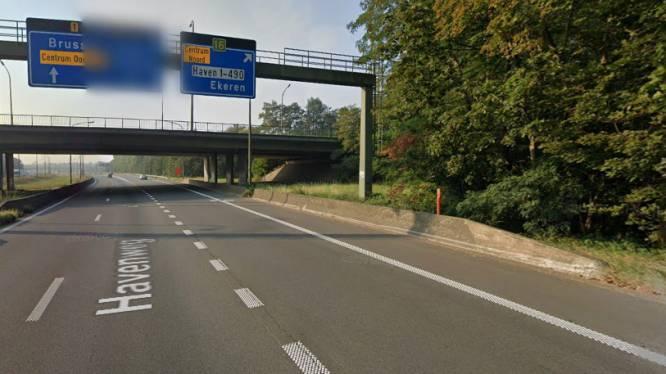 A12 ter hoogte van Ekeren één nacht afgesloten in richting van Antwerpen