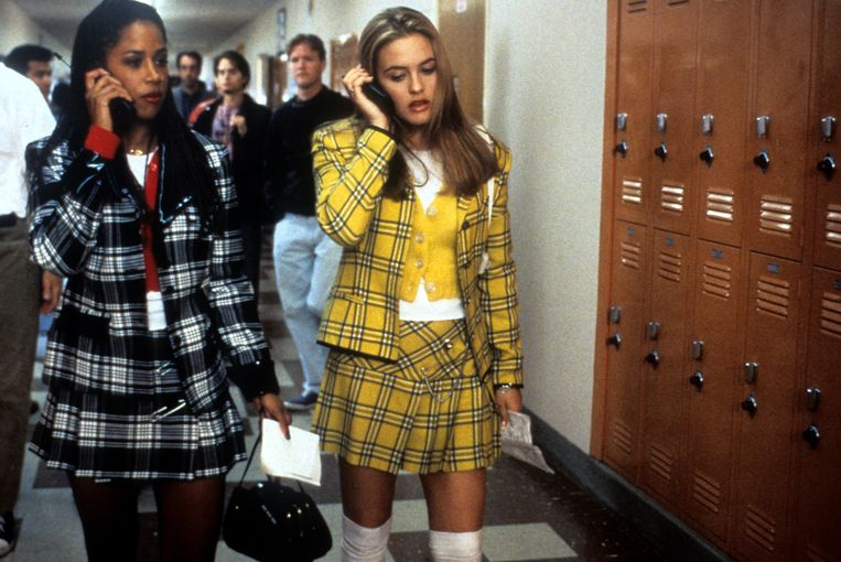Stacey Dash (links) en Alicia Silverstone in Clueless. Beeld Getty