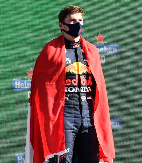 Max Verstappen geniet, maar gaat niet mee in euforie: 'Kampioen worden, dat telt'