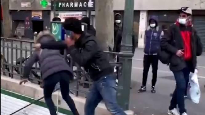 L'homme qui a poussé une femme dans les escaliers à Paris a été expulsé