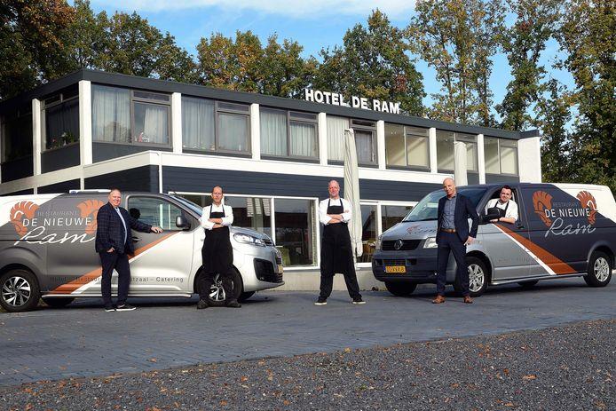 Hotel de Nieuwe Ram is weer geopend na een lange verbouwing.