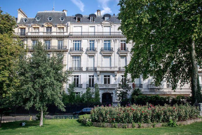 Het appartement van wijlen Jeffrey Epstein bevindt zich in dit monumentale pand op nummer 22 van de Avenue Foch.