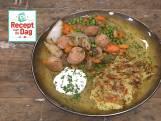Recept van de dag: Rösti met braadworst