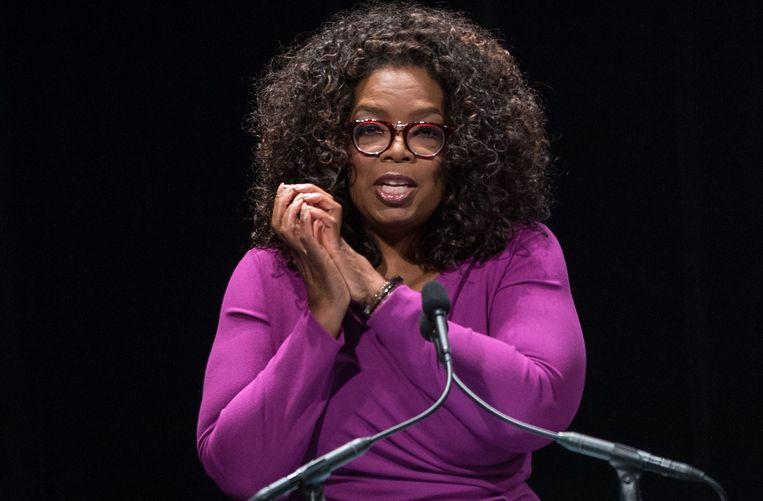 Oprah Winfrey Beeld afp