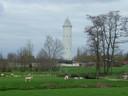 Watertoren Pietje Potlood in De Meije.