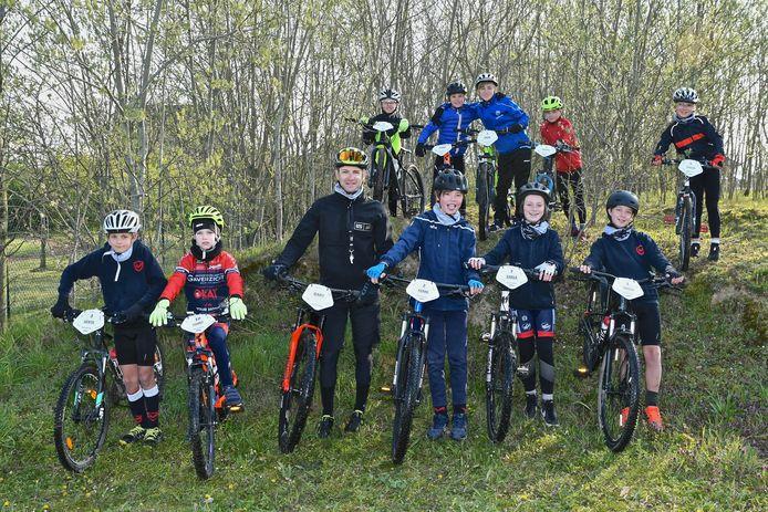 Het mountainbikekamp van Bike2Gold is een succes.