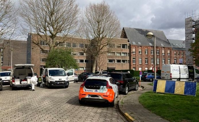 Le corps a été trouvé dans un immeuble de la Baviaanstraat, à Gand