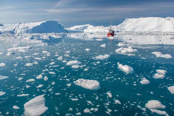 L'AMOC serait ralentie en raison de la fonte de la calotte glaciaire du Groenland