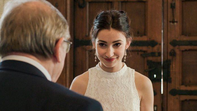 Op de foto: actrice Jasmijn Van Hoof, die Stefanie speelt.