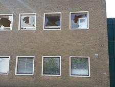 Vandalen houden flink huis in gebouw voormalig  Da Vinci College Roosendaal