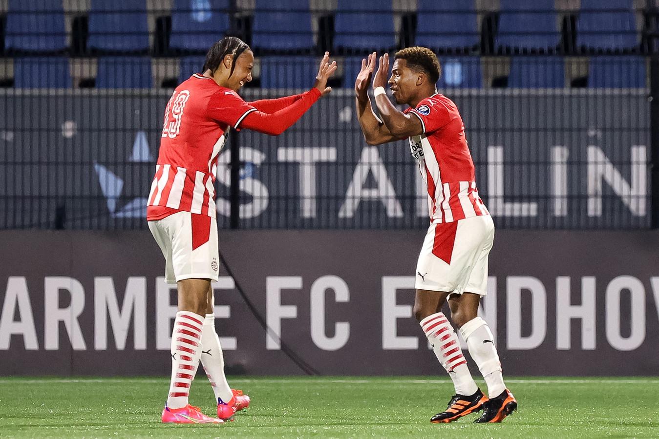 Fodé Fofana en Shurandy Sambo zijn begeerde spelers van Jong PSV.