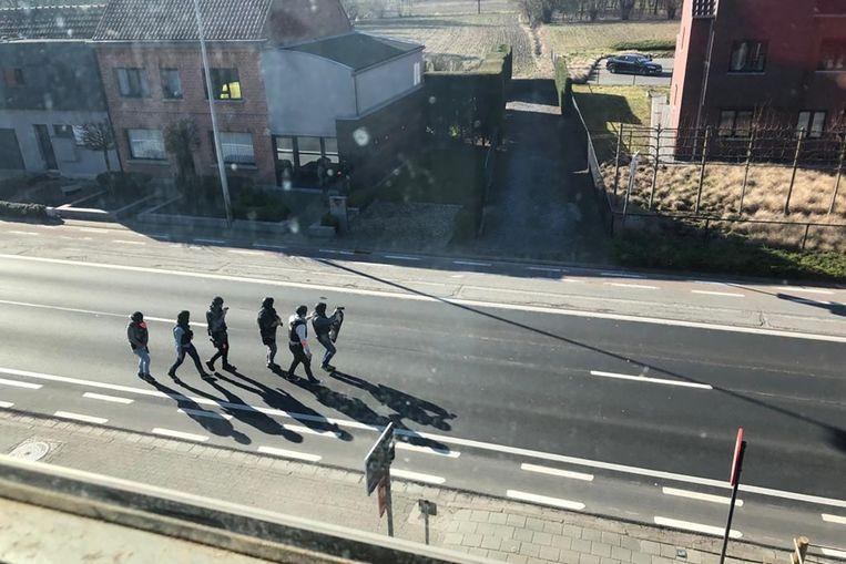 Speciale eenheden van de politie konden de gewapende man snel overmeesteren